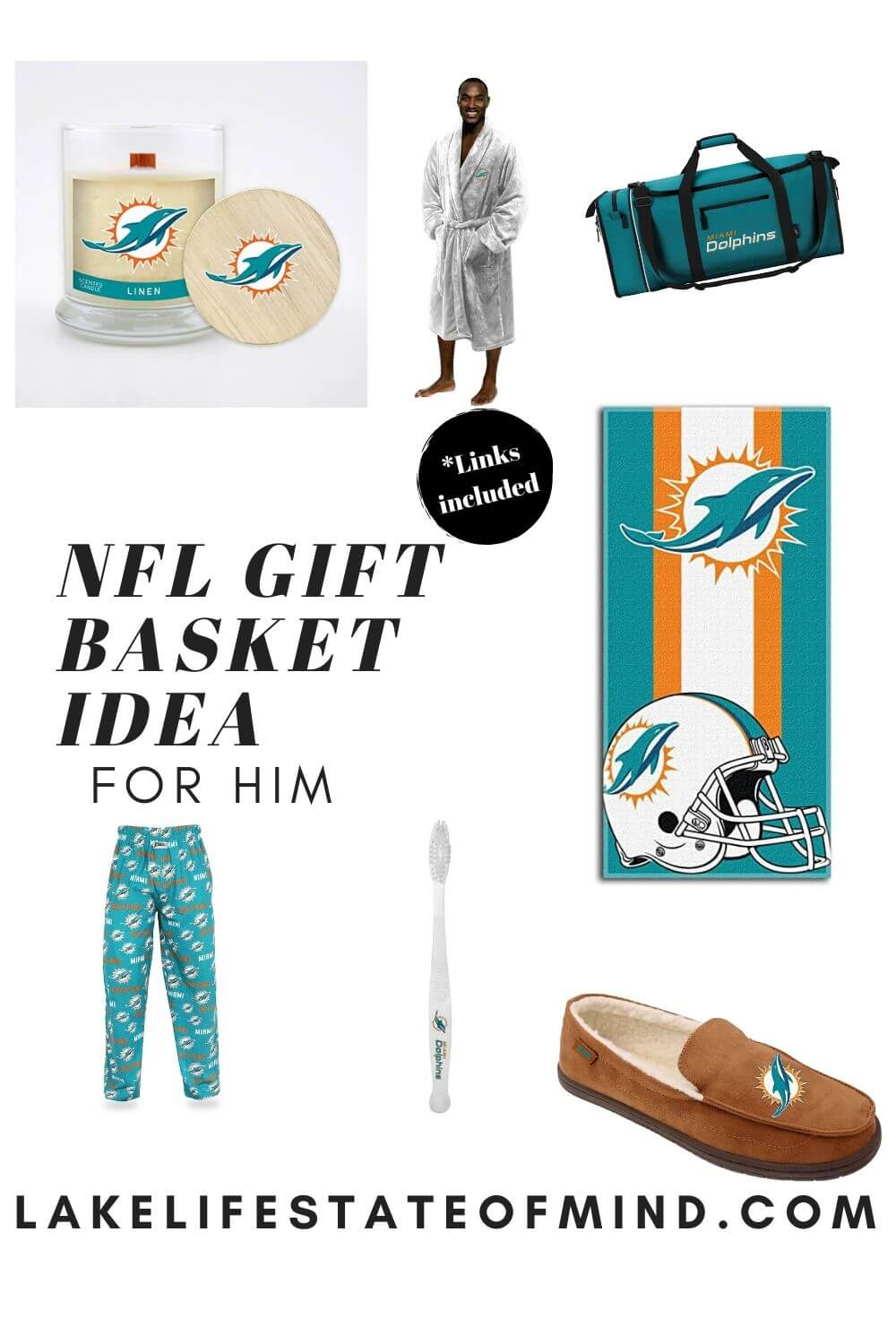 The Ultimate Relaxing Gift Basket For Your NFL-Obsessed Man