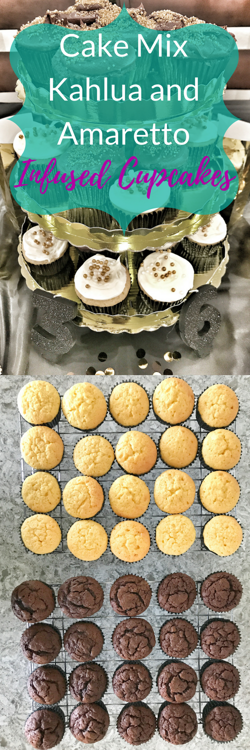 Kahlua Cupcakes Using Cake Mix