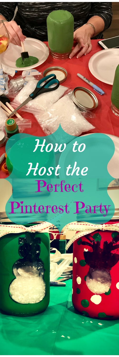 How to Host the Perfect Pinterest Party