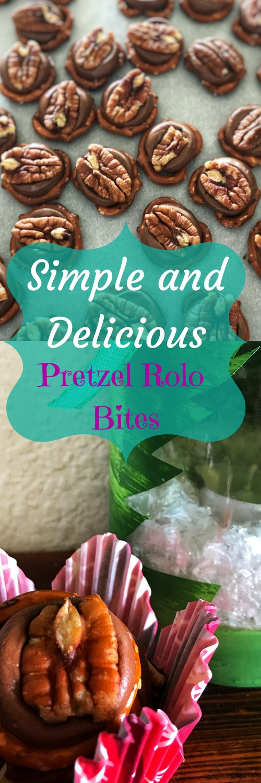 Simple and Delicious Pretzel Rolo Bites