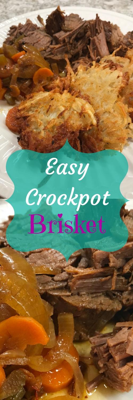 Easy Crockpot Brisket