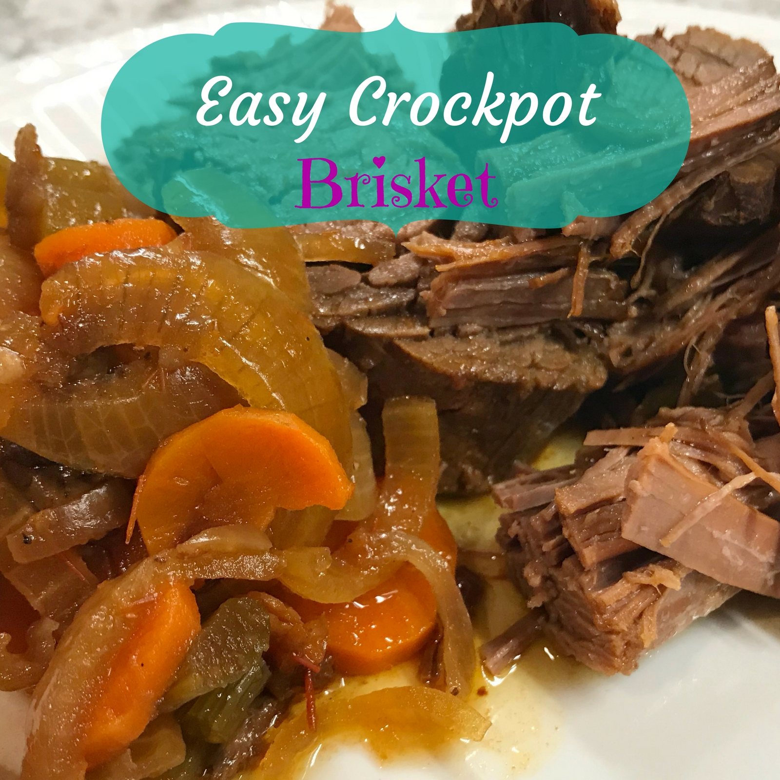 Easy Crockpot Brisket
