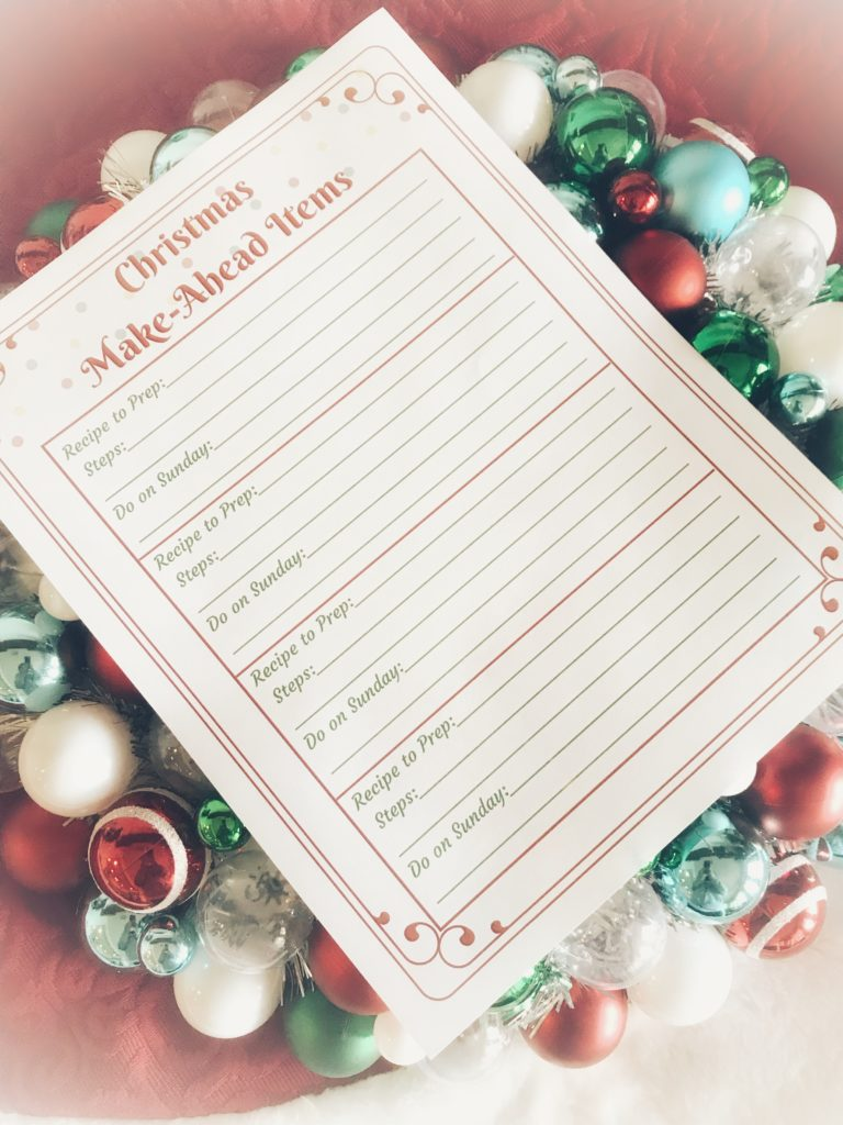 Free Holiday Planner For A More Organized Christmas