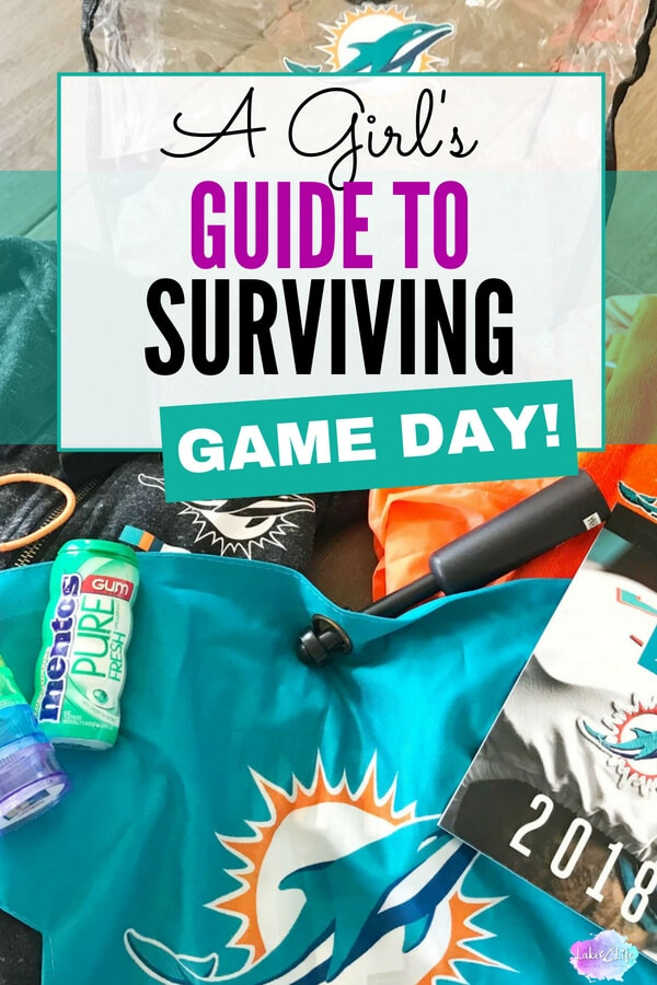 For those girls and women who have been intimidated to join the boys and men in their crazy sporting shenanigans, I've put together A Girl's Guide to Surviving Game Day that's filled with tips and tricks to reduce your Game Day overwhelm. #tailgate