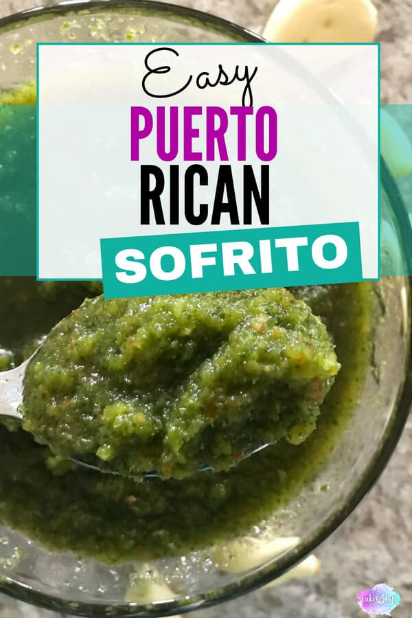 The secret to any successful Puerto Rican dish is having the perfect sofrito recipe. Puerto Rican sofrito is a mixture of peppers, onions, garlic and cilantro, and the base ingredient in almost every Latin dish you'll ever try. Come see how my family makes it! #sofrito #puertoricanfood #sauces