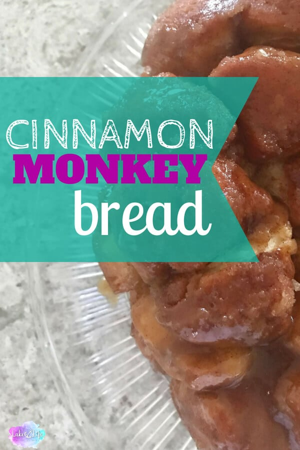 Cinnamon Monkey Bread is a decadent breakfast food with just 5 simple ingredients. Make this simple recipe using store-bought canned biscuits. This recipe is perfect for getting your kids in the kitchen too. Let them help make this easy breakfast and award them with a free Chef Certificate found in my resource library. Easy breakfast ideas. Free Printables. #monkeybread #easybreakfastideas #breakfast #dessert