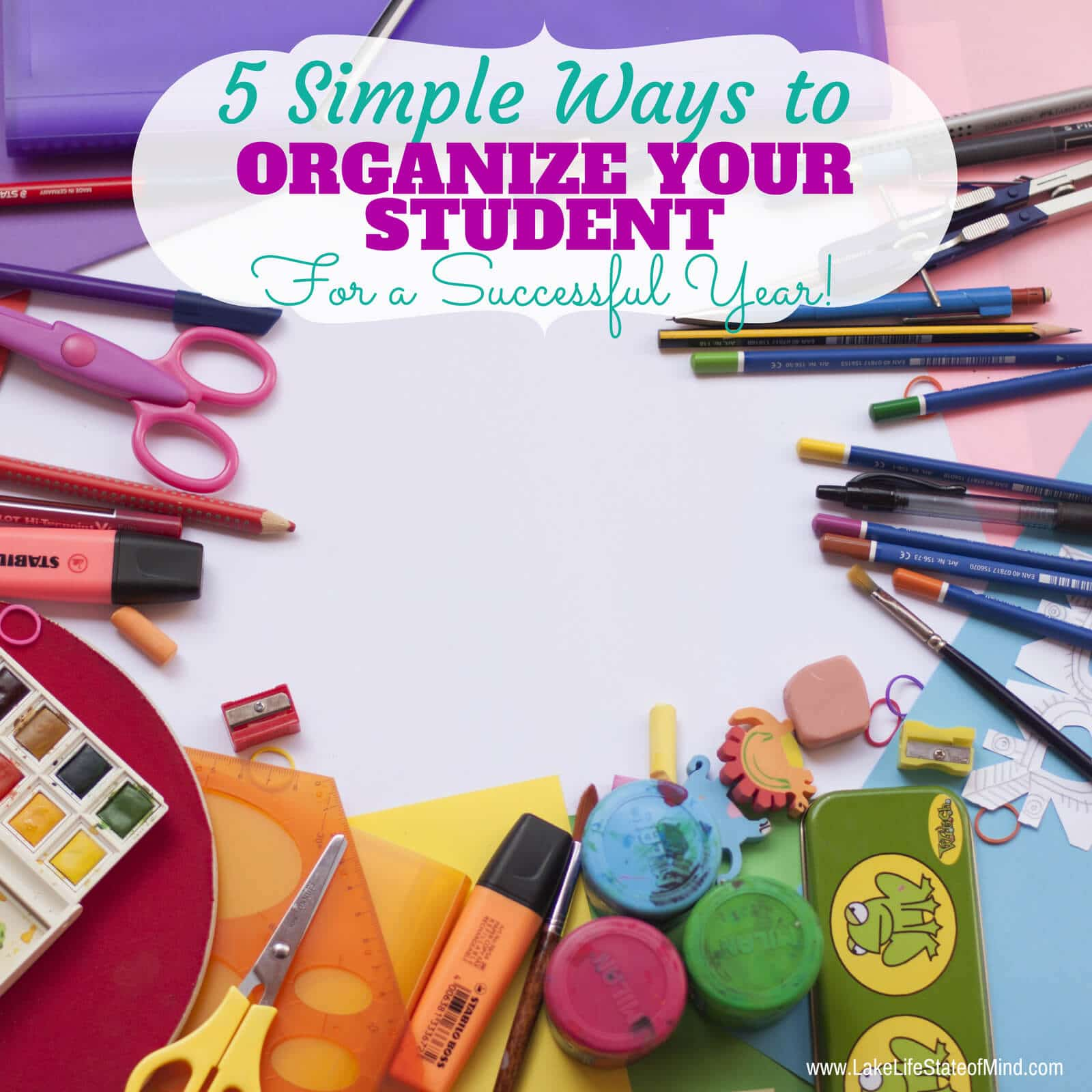 5 Ways To Organize Your Student For Success | Part One