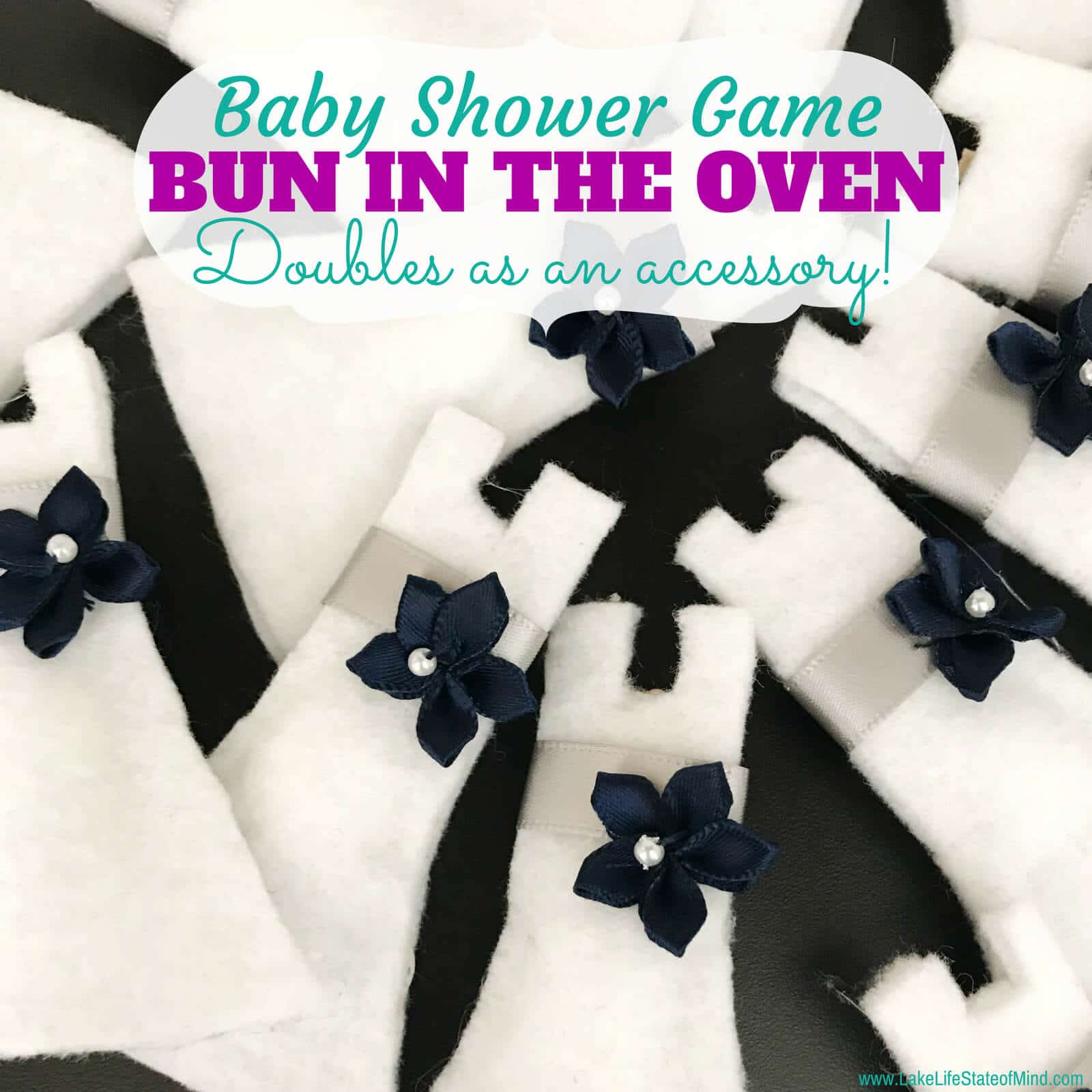 There's a Bun in the Oven | Baby Shower Game