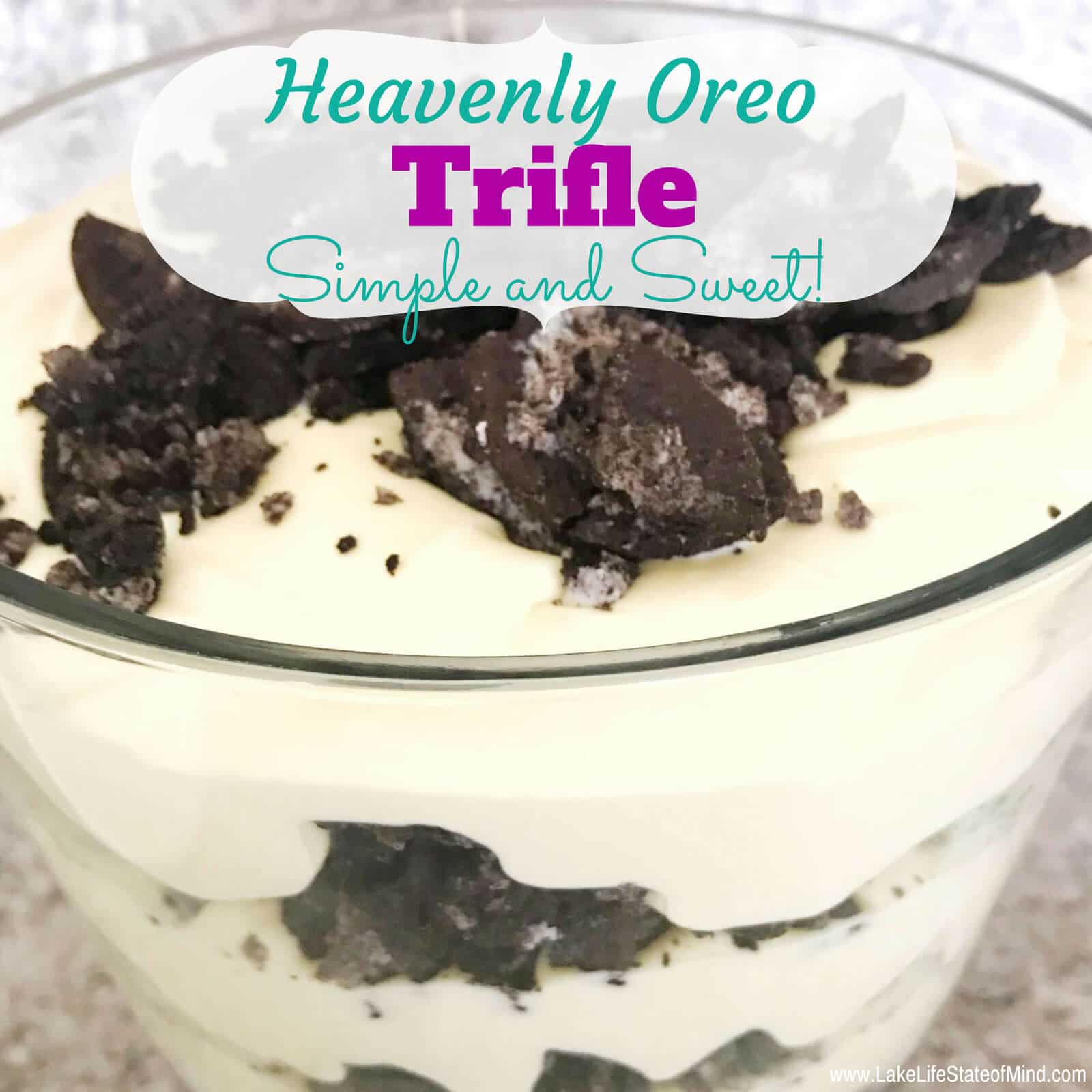 Heavenly Oreo Trifle
