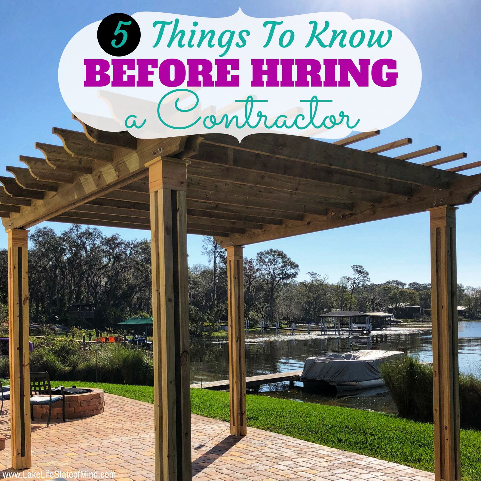 Five Things You Must Know When Hiring a Contractor
