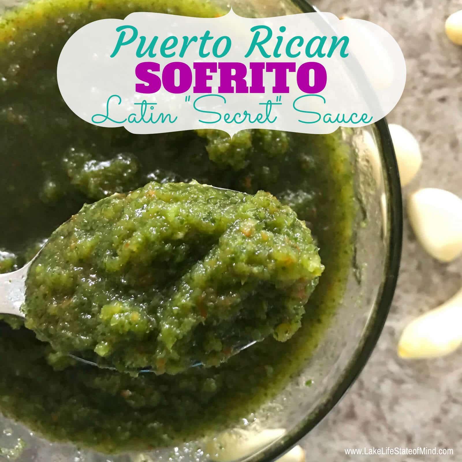 Puerto Rican Sofrito