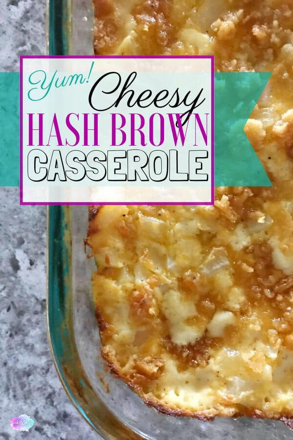 Cheesy Hash Brown Casserole is a super simple side dish that can easily feed a crowd. How could you really go wrong with potatoes loaded with cheese, sour cream and butter! Add a golden brown cracker topping and you'll be in heaven. Try this easy side dish today.