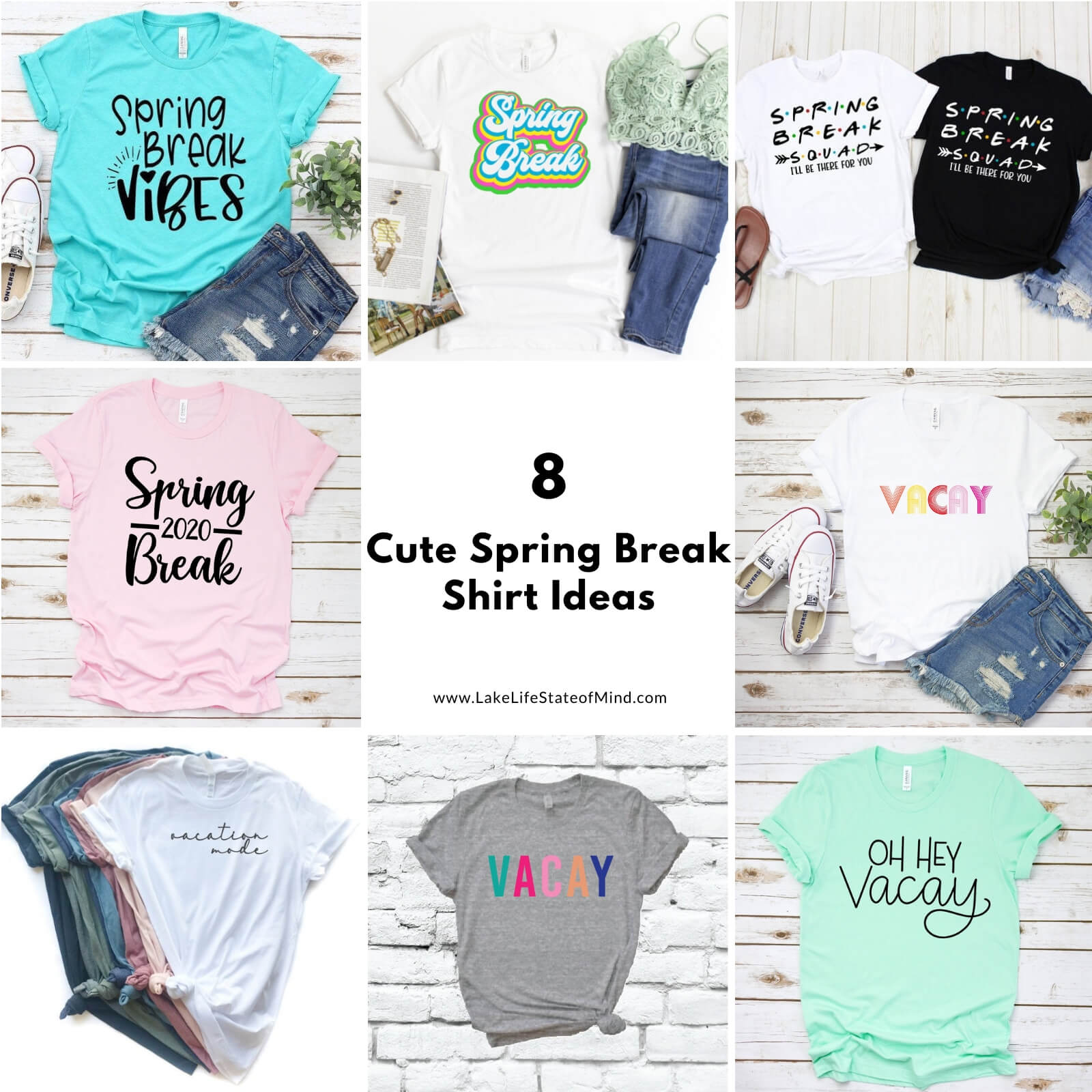 8 Cute Spring Break Shirt Ideas