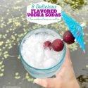 8 Delicious Flavored Vodka Soda Ideas