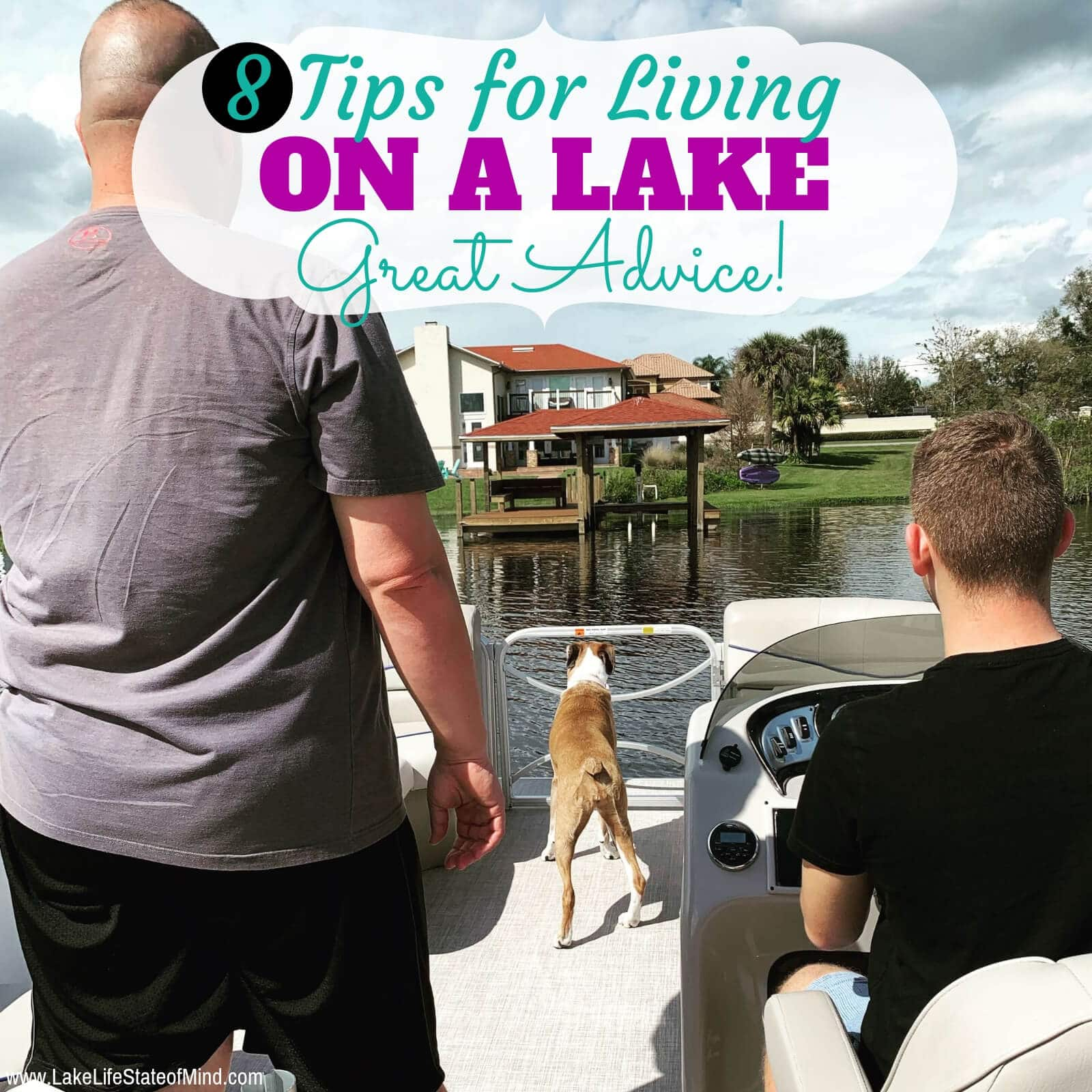 8 Tips for Living on a Lake