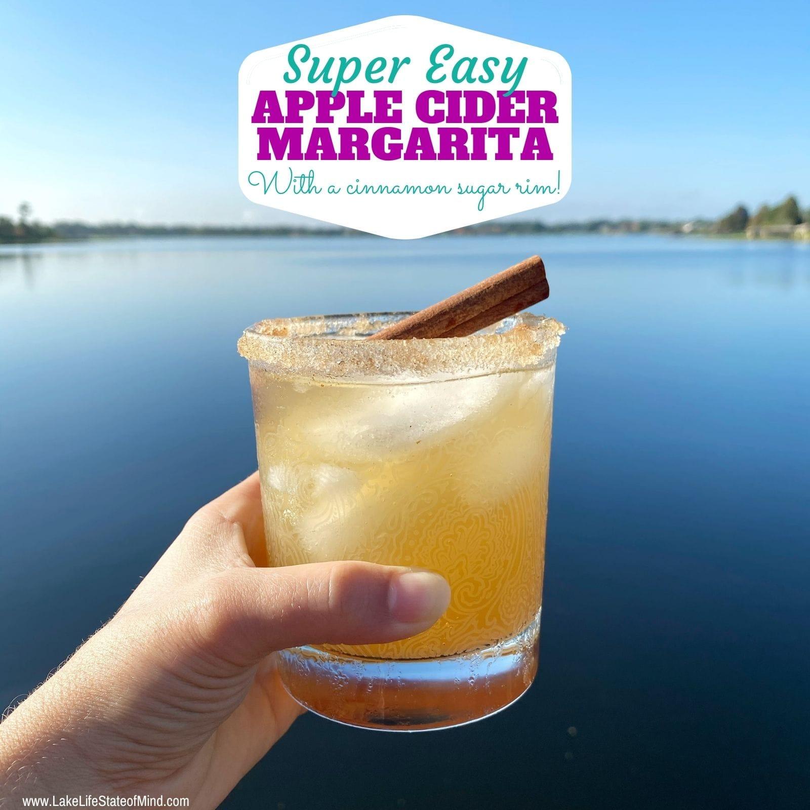 Easy Apple Cider Margarita