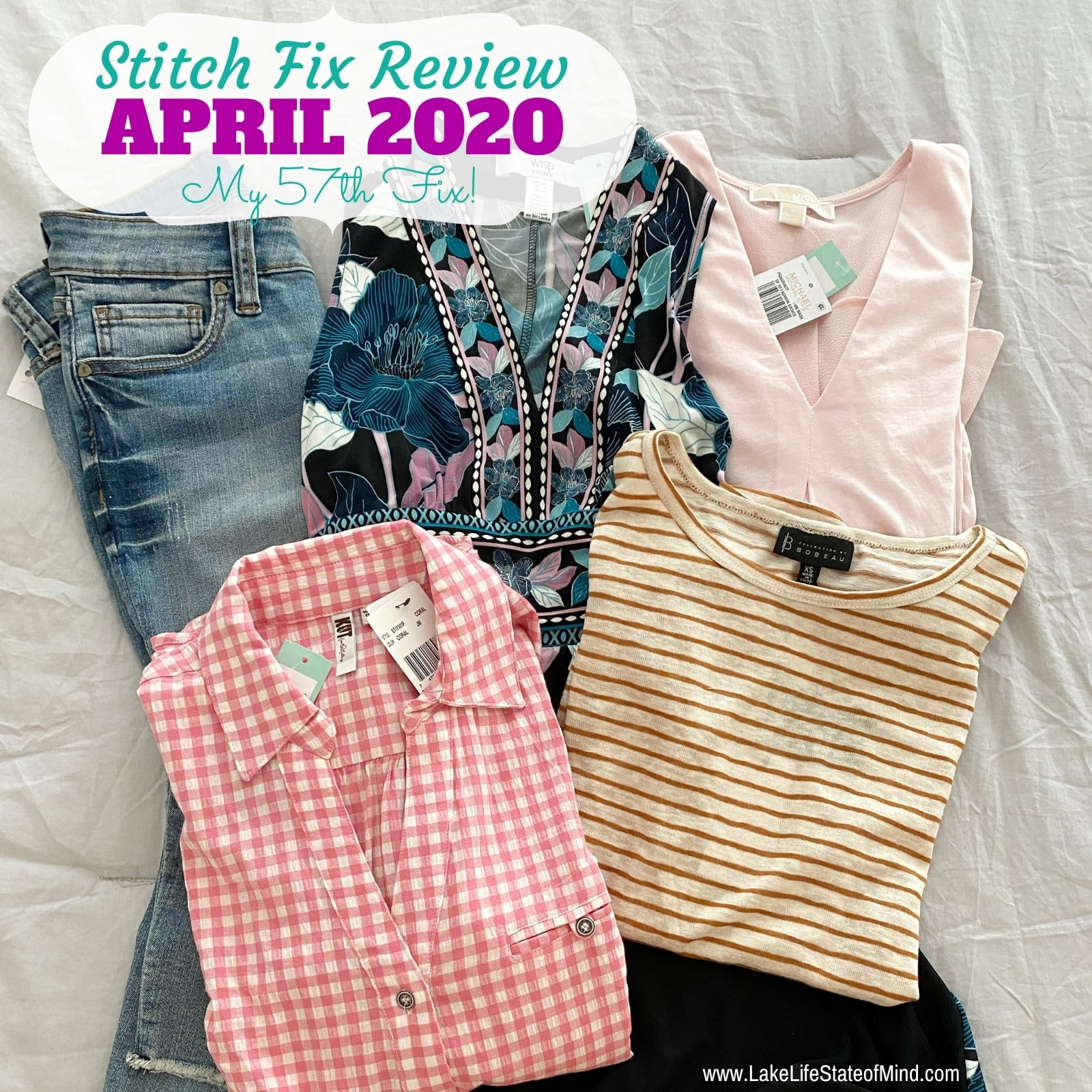 Stitch Fix Box Review: April 2020 Fix #57