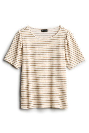 B COLLECTION Dassie Striped Crewneck Pullover SIZE- XS $48.00