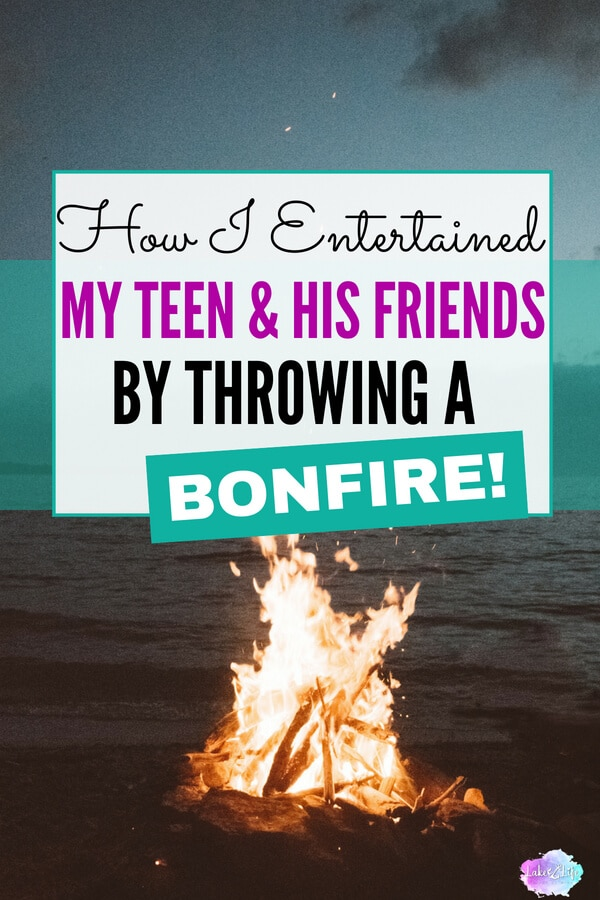 One simple bonfire made one huge impact in our lives! Yes, bonfires are a fun way to spend with your teenager and their friends, but they can also serve a bigger purpose. Come visit me at the lake and hear how I used my love of entertaining to help my husband and me strengthen the parent-child bond with our son. #bonfire #raisingteenagers