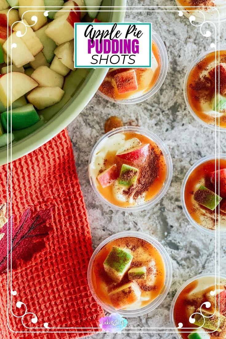 Apple Pie Pudding Shots