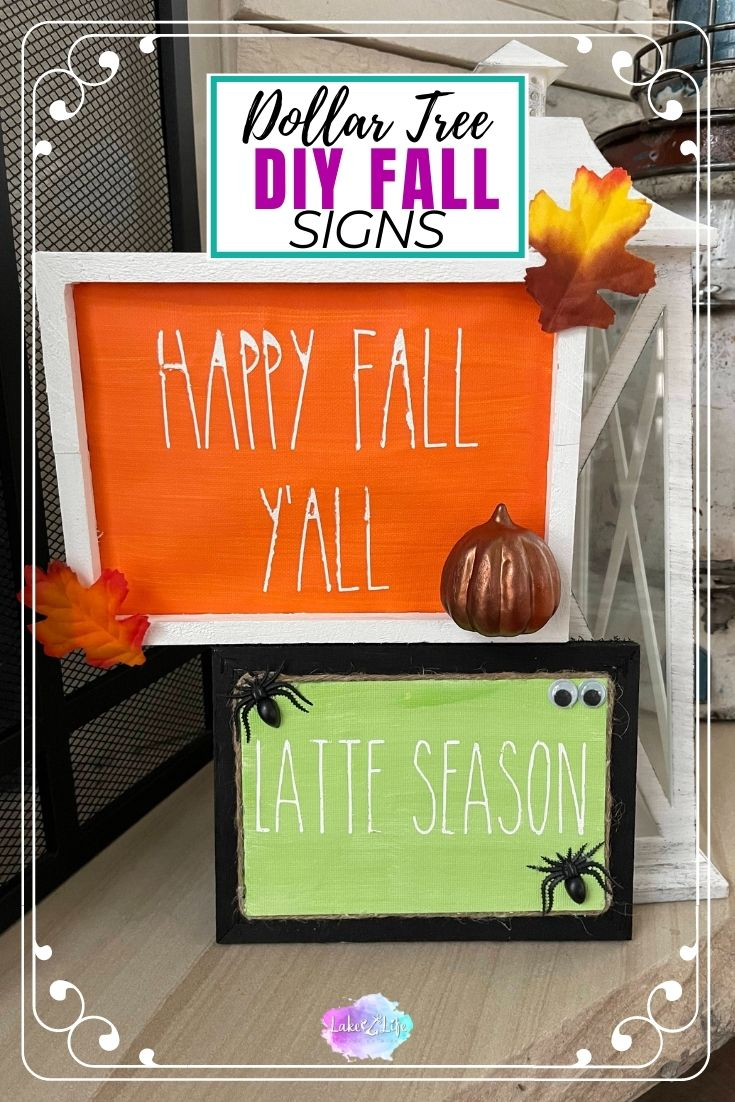 DIY Fall Signs For Your Home
