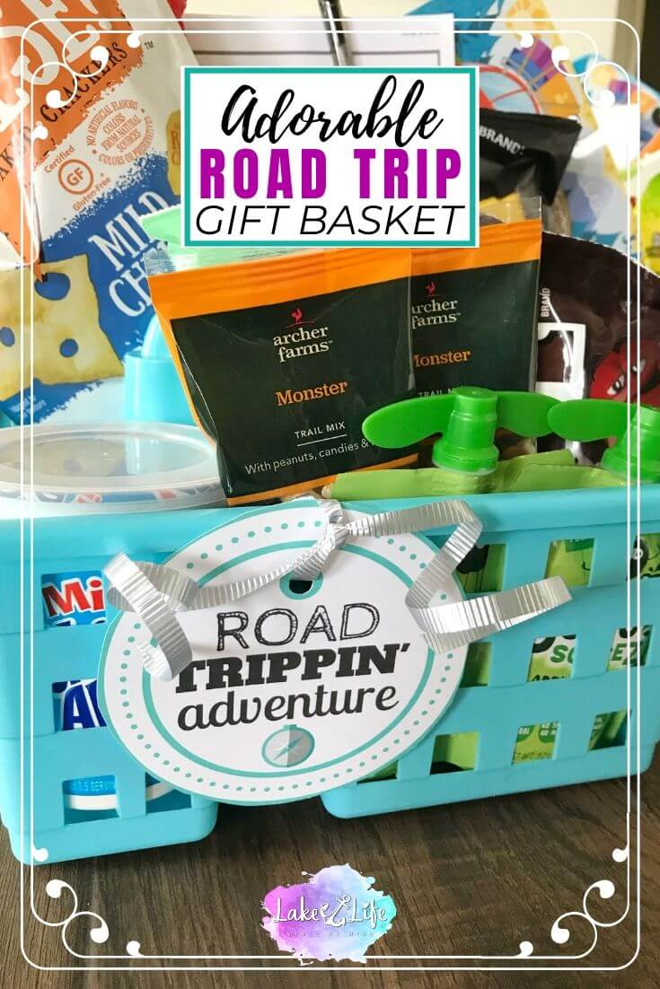 Road Trip Gift Basket Idea
