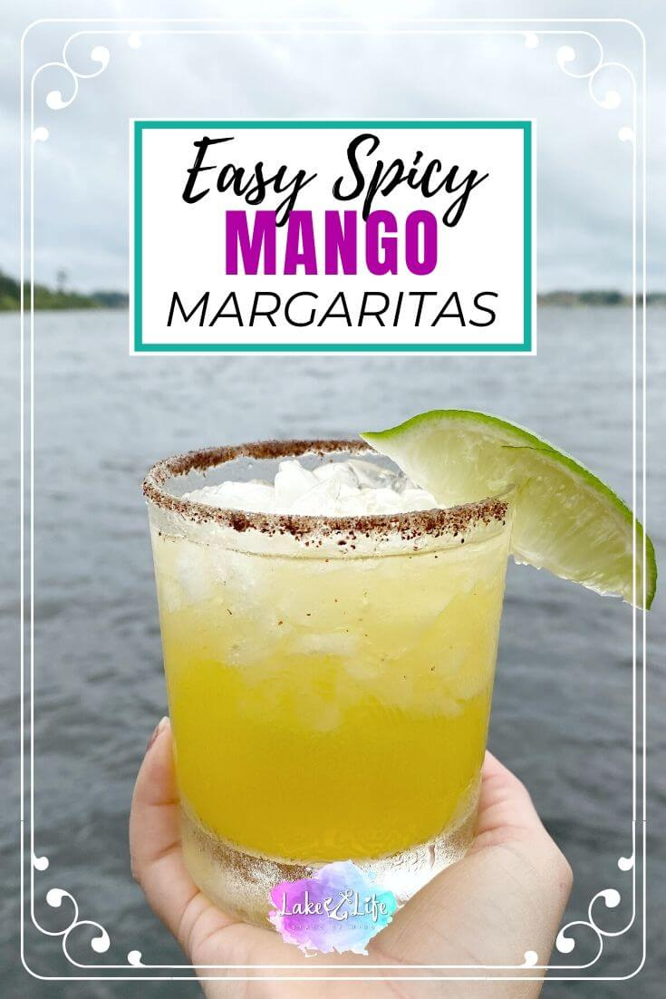 Easy Spicy Mango Margarita Recipe