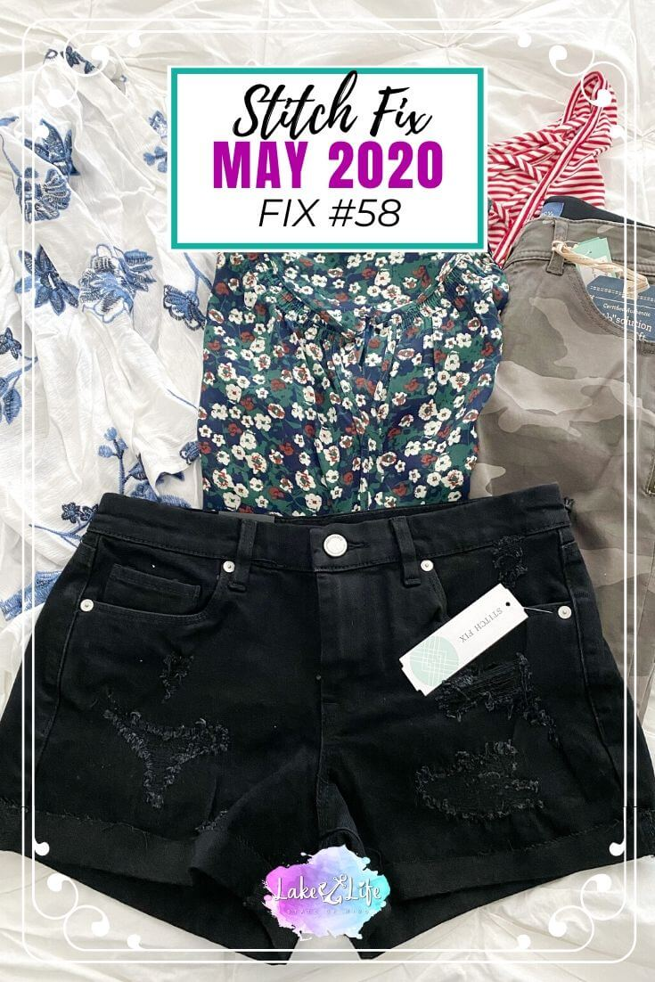 Stitch Fix Box Review May 2020 Fix #58