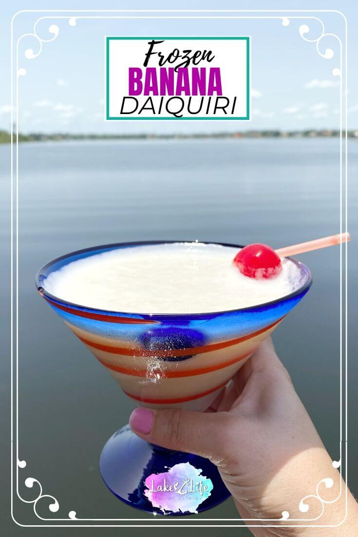 Frozen Banana Daiquiri Recipe