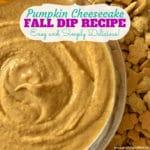 Creamy Pumpkin Cheesecake Dip