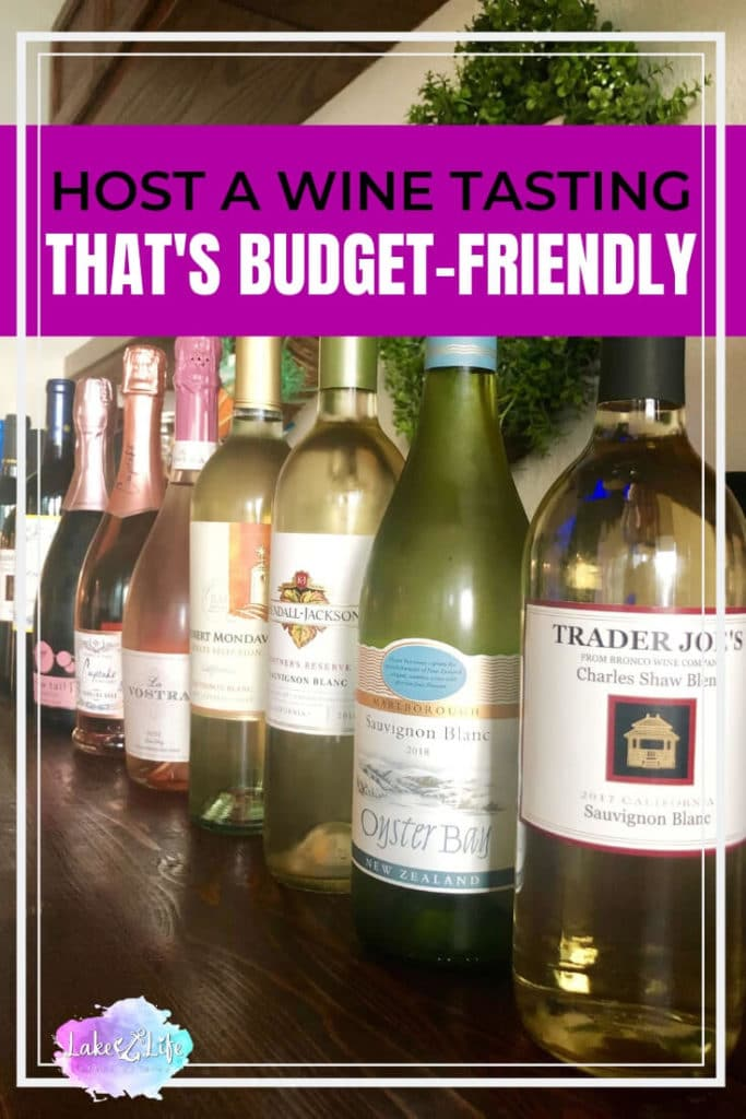 How to Host a Budget-Friendly Wine Tasting | Fun Adult Party Theme