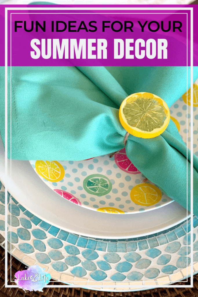 Fun Summer Decorating Ideas for the Home | Lake Life State
