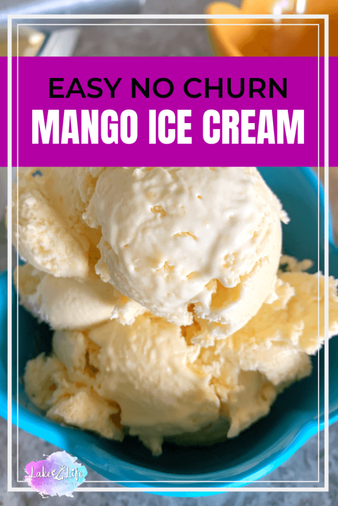 Summer is all about simplicity and nothing could be easier than this no churn mango ice cream recipe . With just four simple ingredients, you can whip up your very open batch of mango ice cream without the hassle of using an ice cream machine. I guarantee this is the perfect dessert to help cool you down on these hot summer days!