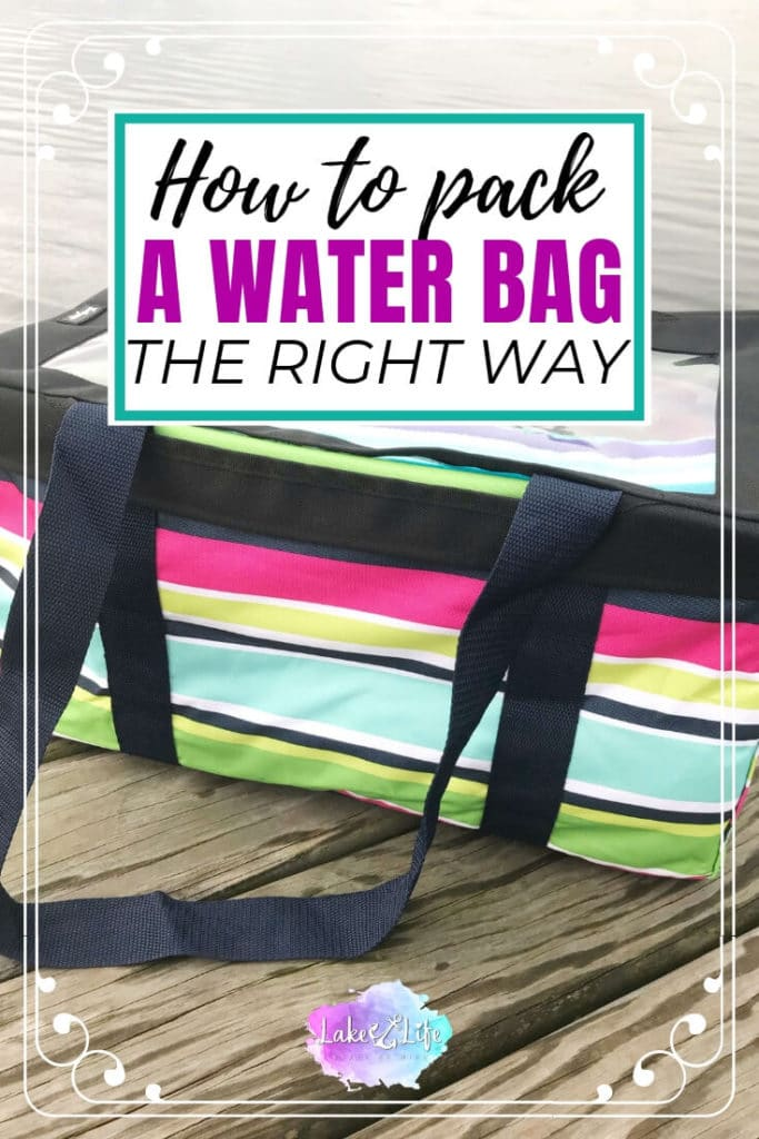 Whether you live on the lake like me or plan on visiting one sometime during this summer season, having the perfect lake bag to bring along is a necessity. Not planning on going to the lake this summer? No worries! This lake bag is just as perfect for a pool or beach day. #lakebag #lakelife #poolbag #beachbag #lakelifestateofmind
