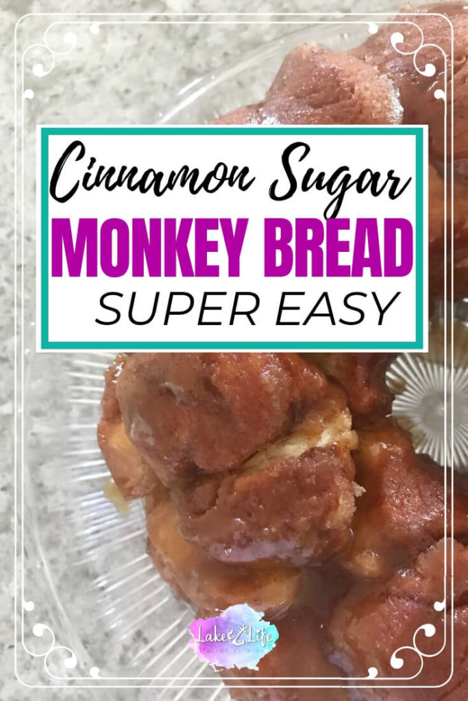 Cinnamon Monkey Bread is a decadent breakfast food with just 5 simple ingredients. Make this simple recipe using store-bought canned biscuits. This recipe is perfect for getting your kids in the kitchen too. Let them help make this easy breakfast and award them with a free Chef Certificate found in my resource library. Easy breakfast ideas. Free Printables. #monkeybread #easybreakfastideas #breakfast #dessert #lakelifestateofmind
