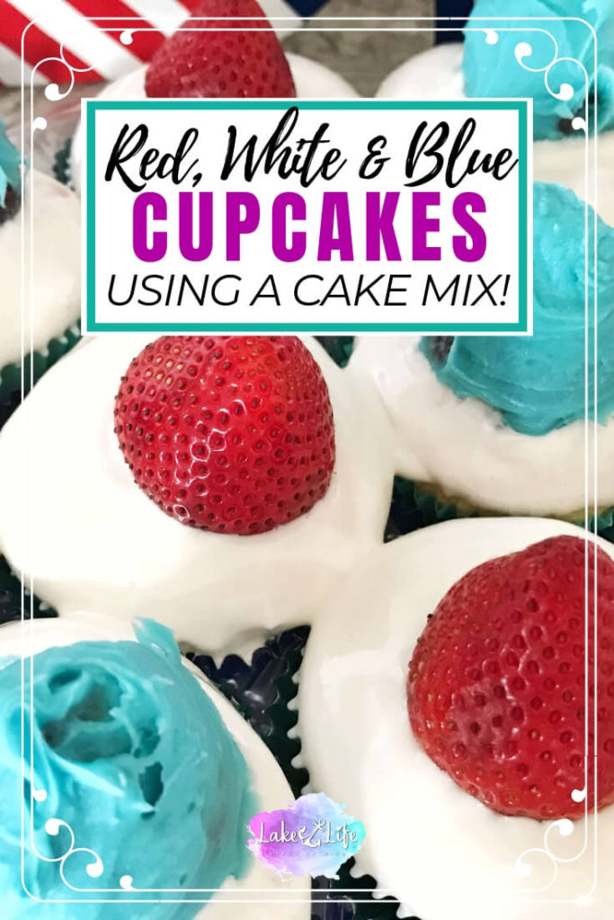 Red, White and Blue Cupcakes | Patriotic Cupcakes
