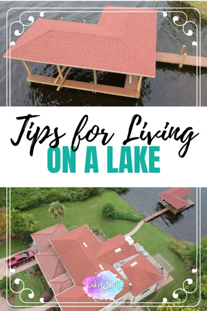 Tips for Living on a Lake | Things to Know about living on a lake