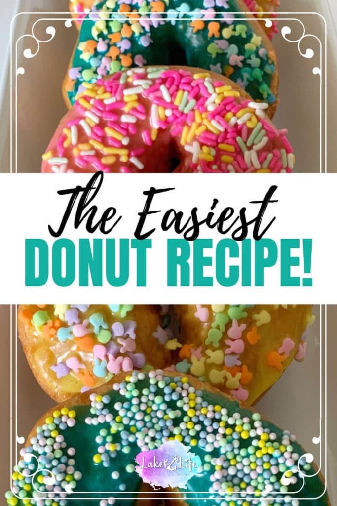 Easy Donut Recipe using Pillsbury Canned Biscuits | Homemade Donuts