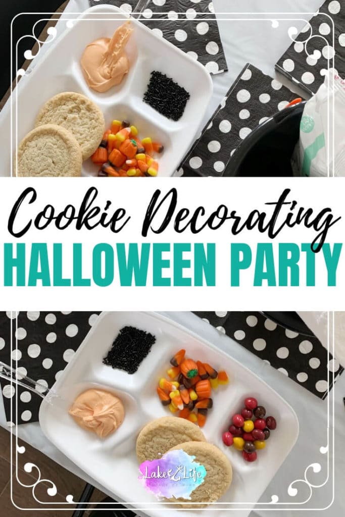 Kids Halloween Party | Halloween Cookie Decorating Party Idea