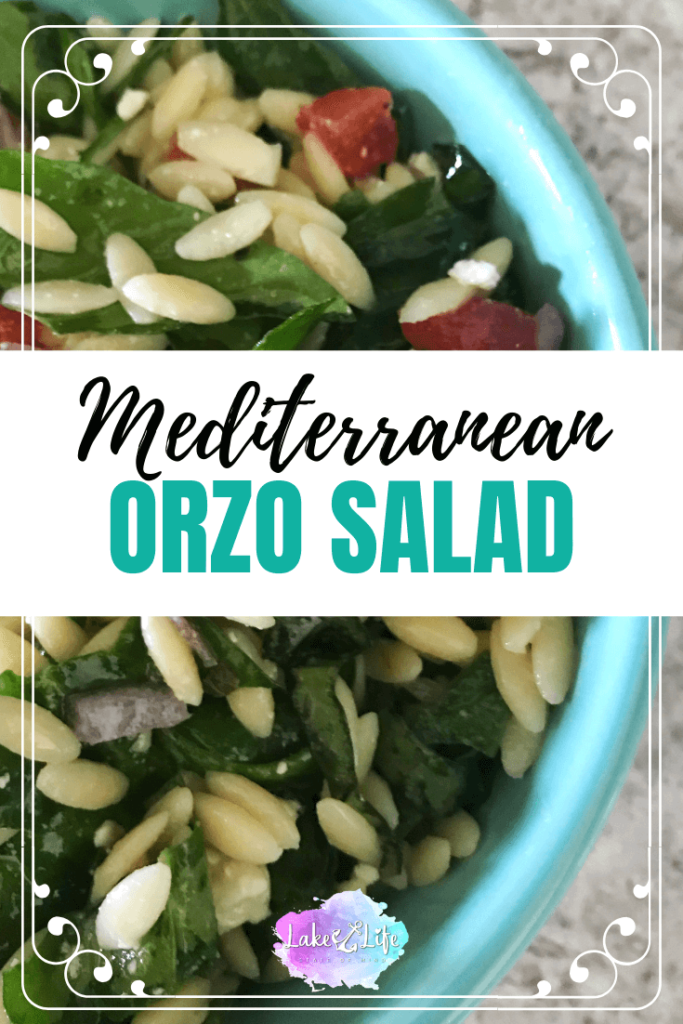 Mediterranean-Style Orzo Salad | Easy pasta side dish