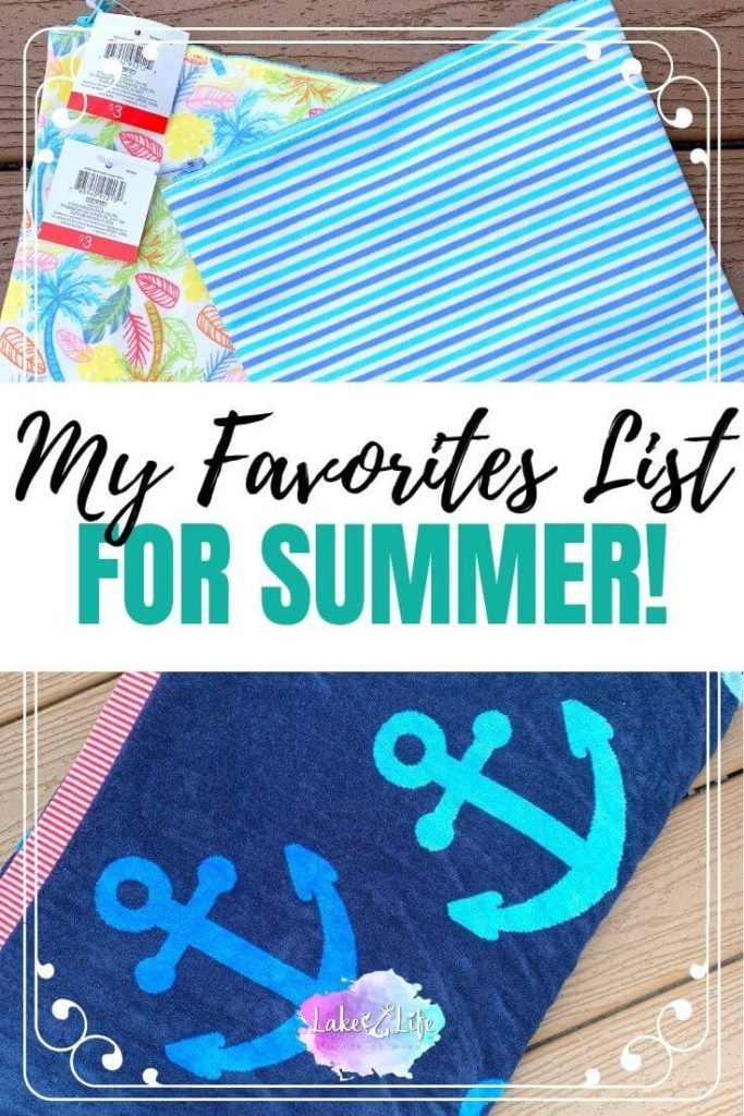 It's time to share the love and let you in on what I'm currently crushing on on these days! Here is my list of favorite things I'm loving for the summer. You'll find everything from games to play, food to eat and even cocktails to drink. You won't want to miss this favorites list I created just for you.