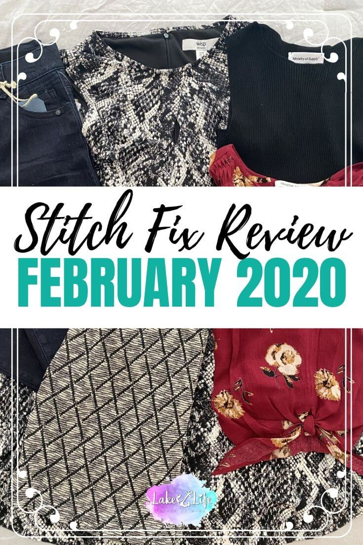 Stitch Fix Box Review February 2020 Fix #55