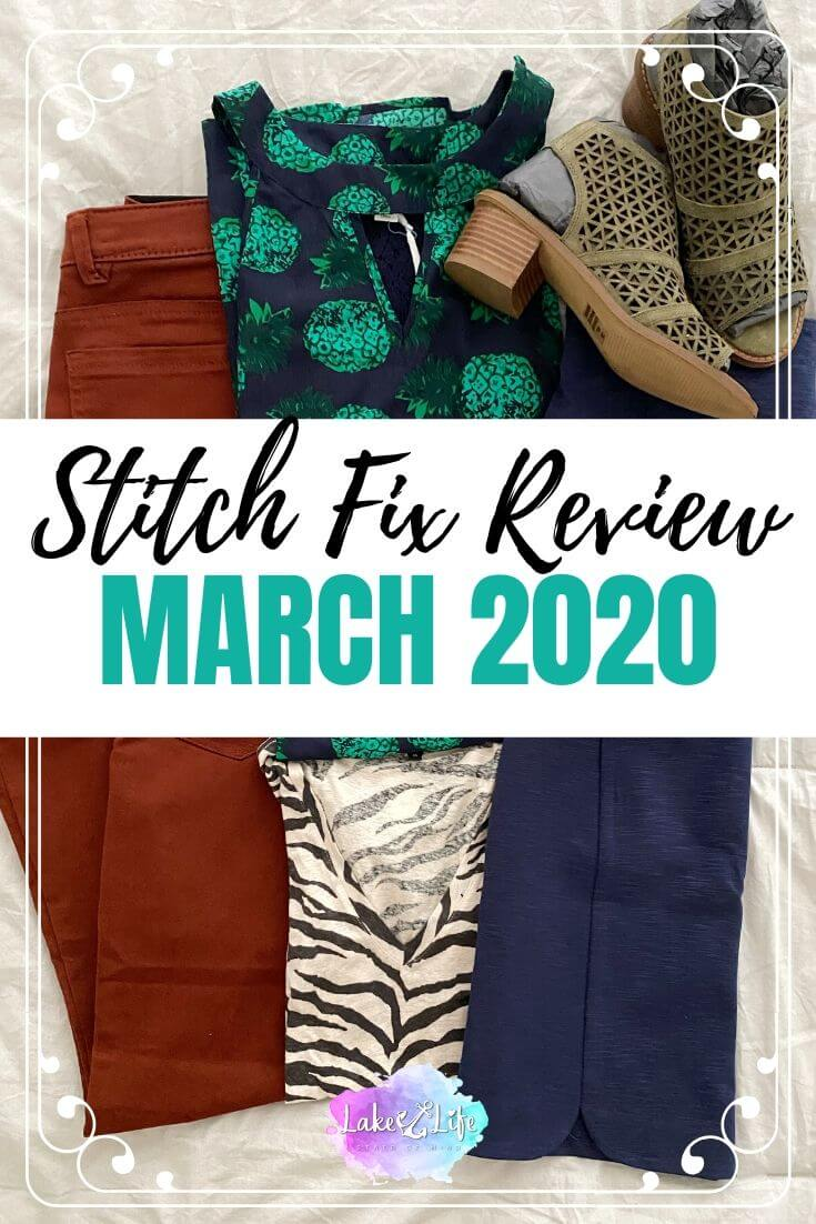 Stitch Fix Box Review March 2020 Fix #56