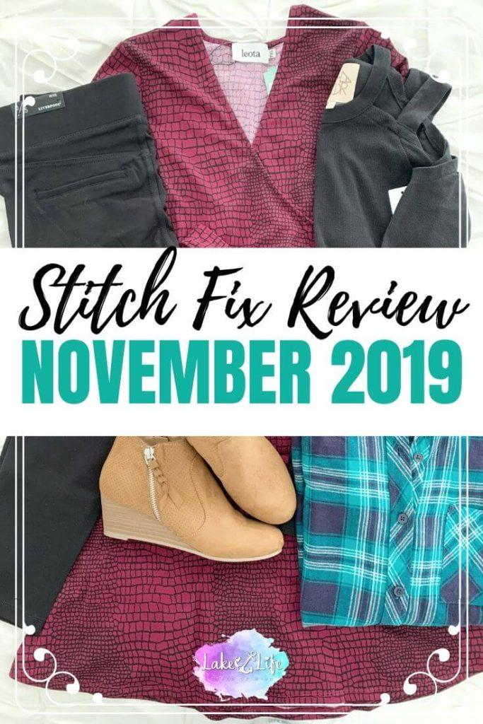 Stitch Fix Box Review: November 2019 Fix #52
