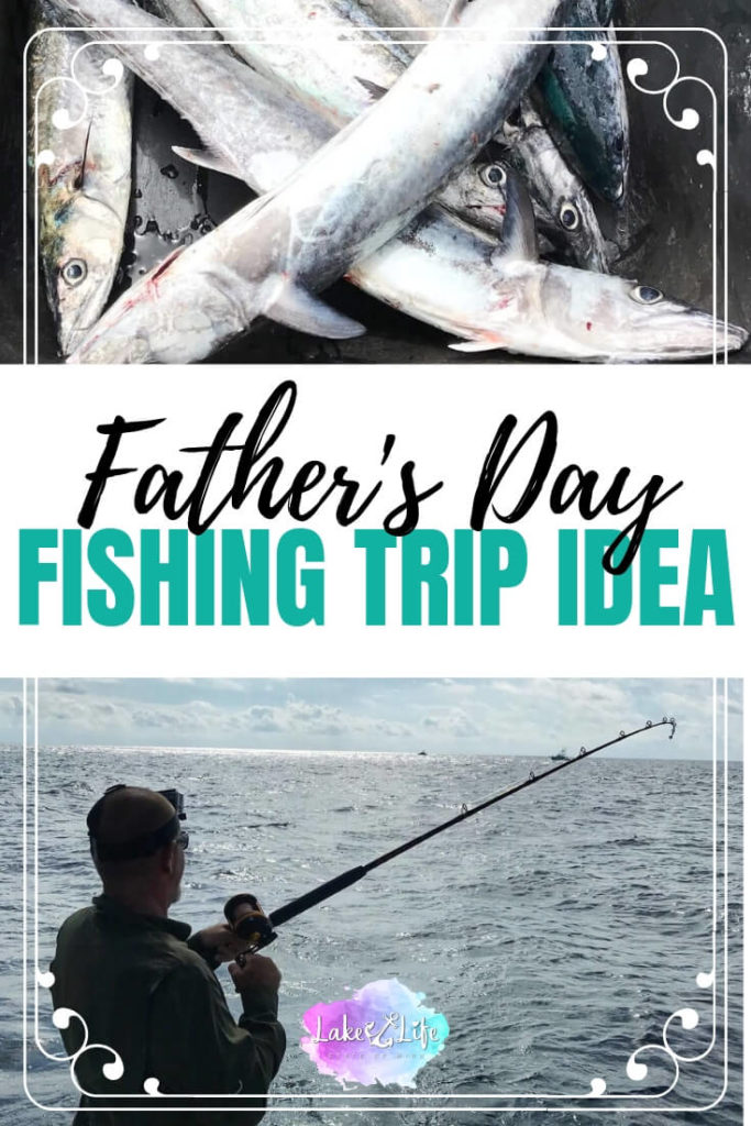 Looking for a unique Father's Day gift idea to surprise that special dad in your life? You should definitely consider a deep sea fishing trip! This is the best Father's Day gift idea for the man who has everything. Celebrate dad and all he does this Father's Day with this one of a kind experience!