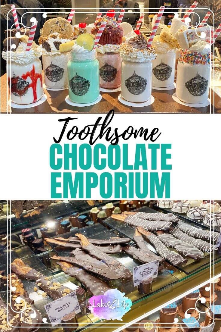 Why You Should Visit Toothsome Chocolate Emporium at Orlando Citywalk