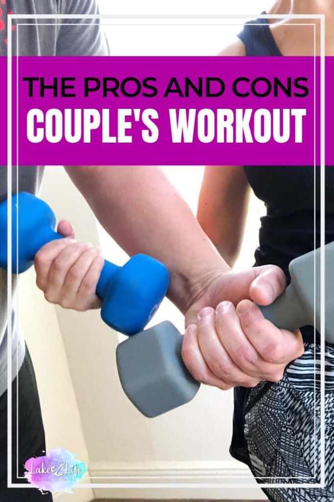 """Embarking on a fitness quest with your spouse is rewarding and insane all at once! Read, """"The Good, The Bad and The Ugly of Working Out With Your Spouse"""". #workingout #workinghard #couplegoals #21DayFix #beachbody #lakelifestateofmind"""