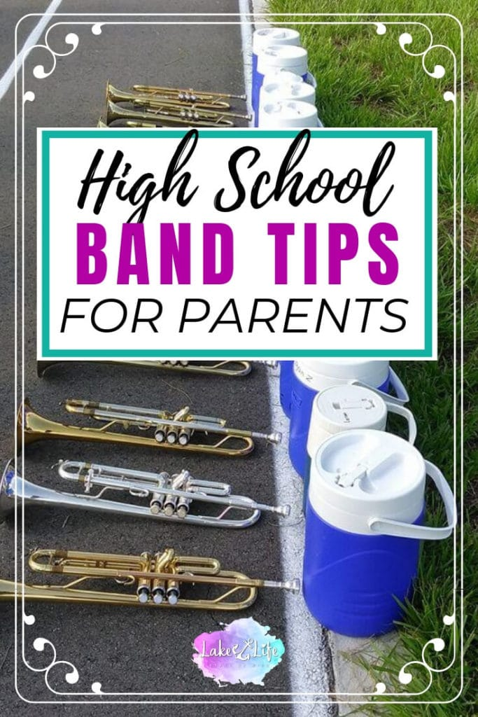 With the school year coming to an end, I find myself taking a step back and reflecting on what I learned as a first-year band parent. Having no experience with high school band prior to this, I was basically a deer in headlights for the first half of the year. This post is to pay it forward for all future band parents out there who have no idea what they are in for. You're welcome!