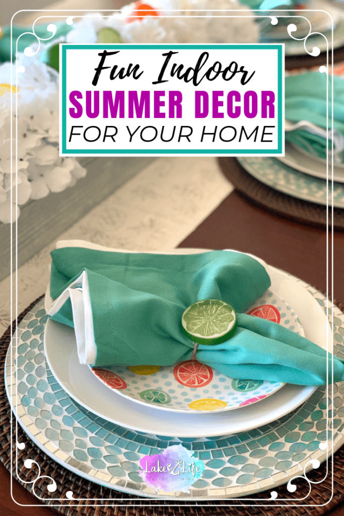 Fun Summer Decorating Ideas for the Home | Lake Life State ...