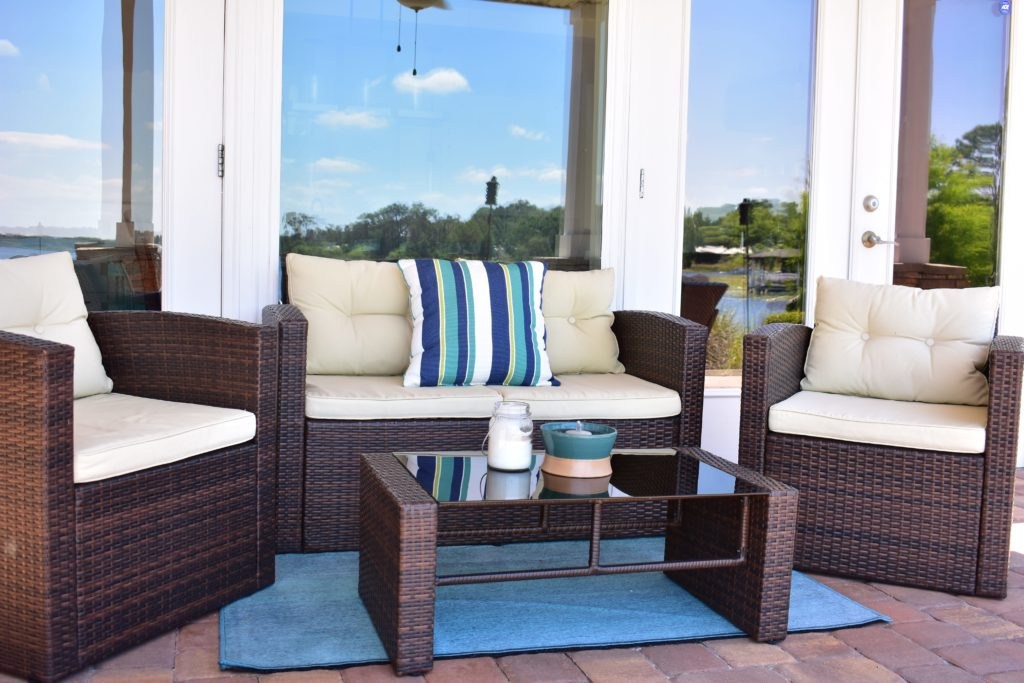 Our Lakeside Patio Reveal